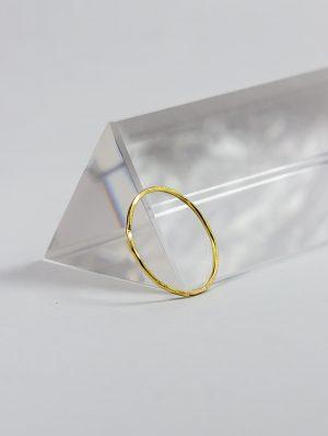 Alianza de Oro 18k minimalista