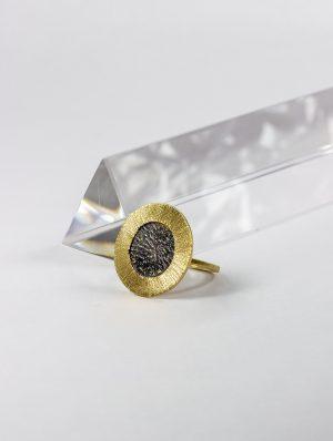 Anillo sello de Oro 18k